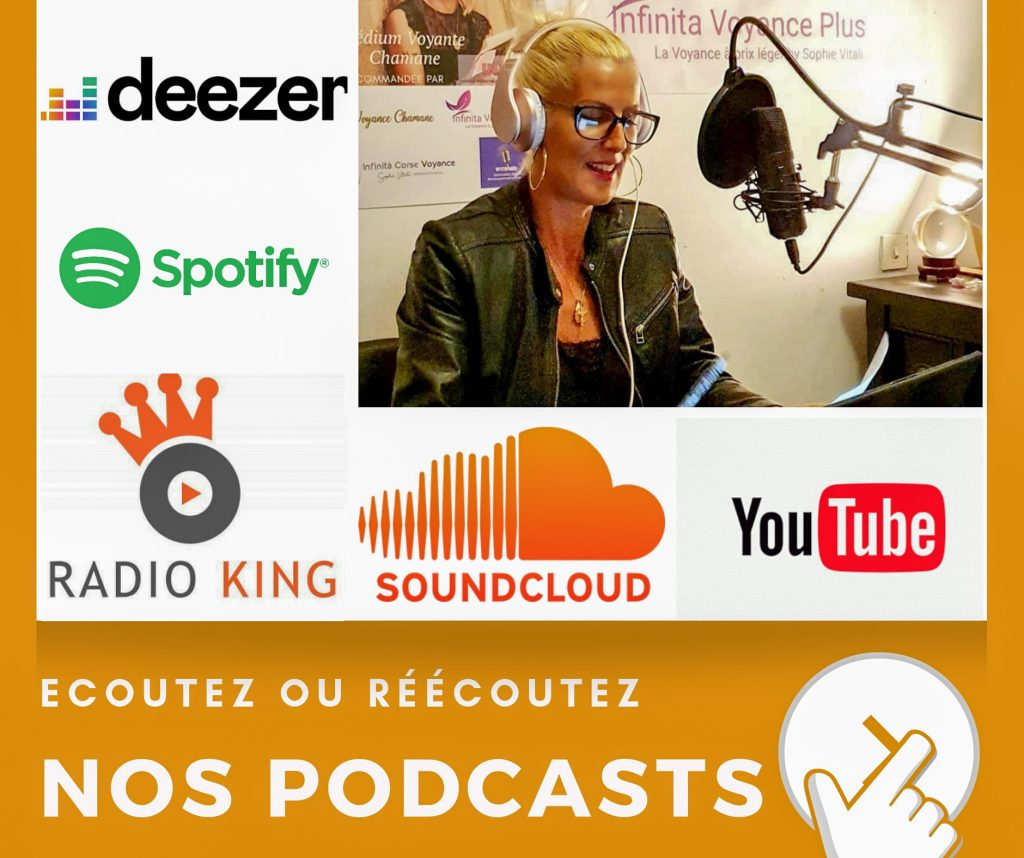Nos podcasts / Mystik Radio